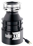 76039a Insinkerator Badger 1 1/3 Hp Disposer With Cord CAT300ISE,BADGER 1 W/CORD,B1C,ISD,BADGER1,050375001744,