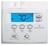 1f86ez-0251 Wr 1 Heat/1 Cool Single Stage/heat Pump Non-programmable Thermostat CAT330WR,WRT,786710542824