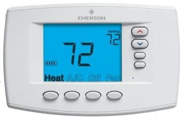 1f95ez-0671 Wr 1 Heat/1 Cool Single Stage 2 Heat/2 Cool Multi-stage 4 Heat/2 Cool Heat Pump Non-programmable Thermostat CAT330WR,1F95EZ-0671,1F95EZ0671,786710538131