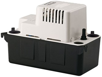 554455 Little Giant 3/8 Barbed 230 Volts Condensate Pump CAT407C,LGVCM20ULS2,LGC220,LGCP220,10010121544557,LGP,LGCP,VCM,010121544550