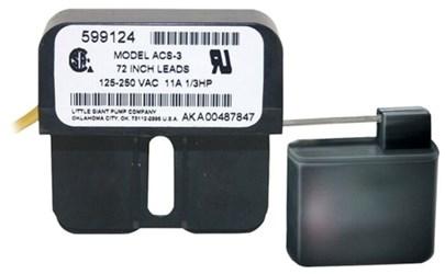 599123 Little Giant Acs2 48 Volts 72 Wire Float Switch CAT407,LGSW72,LGACS2,10010121991238,FS72,FS,CC1,010121117921,TSO47,010121991231
