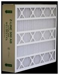 15 3/4 X 24 1/4 X 4 7/8 Z-line 500 Ab Series Merv 8 CAT364,ABP16255,500AB,16255,16X25X5,AIR BEAR,AIRBEAR,G,