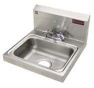 H30-124c Griffin Ss Hand Sink W/fct & Strainer CAT142,H30124C,SEHS17,HWS,GHS,