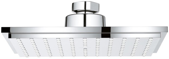 27705000 Euphoria Cube 150 2.5 Gpm Rain Spray Starlight Chrome Showerhead CAT164,27705000,4005176907166,