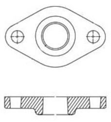519601 Grundfos Pumps 3/4 Pump Flange Kit CAT405,51.96.01,519601,CPFF,999000025352,GFS,GFK,FSF,5700390260033