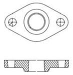 519651 Grundfos Pumps 3/4 Lf Pump Flange Set CAT405,GF381,519651,5700390260354,FSF,51.96.51,519651,CPFF,GFS,GFK,FSF,40530420,MFGR VENDOR: AH,PRCH VENDOR: .,FLANGE