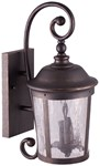 Cl-h20-rb Sunway 9.000 X 11.000 X 20.000 1 Lt Oil Rubbed Bronze Clear Water Glass Coach Light CATSUN,CL-H20-RB,CL-H20-RB,78692912792