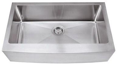 Ha124 Stainless Steel 16 Gauge Farmhouse Style Kitchen Sink CATHWR,HA124,843512027253