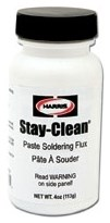 Scpf4 40027 Harris Stay-clean 4 Oz Silver Flux CAT264,JHSCP4,30684032000200,630684032000200,306844,SCF4,HF4,STAY CLEAN,716447811443,