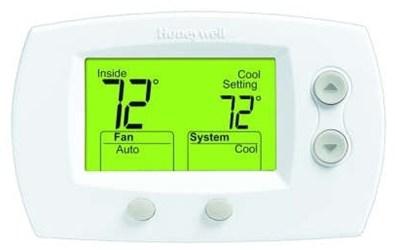 Th5320u1001/u D-w-o Honeywell 3 Heat/2 Cool Heat Pump, 2 Heat/2 Cool Conventional System Thermostat CATO330H,085267268400,HW5000,