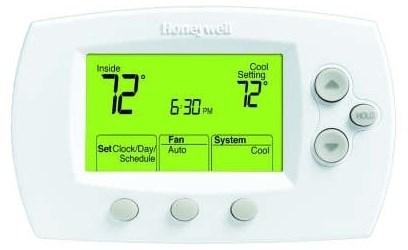 Th6320u1000/u D-w-o Honeywell 3 Heat/2 Cool Heat Pump, 2 Heat/2 Cool Conventional System Thermostat CATO330H,085267268417,