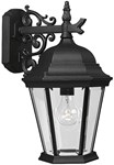 P5683-31 Welbourne 9.375 X 11.250 X 16.000 1 Lt Textured Black Clear Glass Wall Lantern CAT731,P5683-31,P5683-31,785247568321