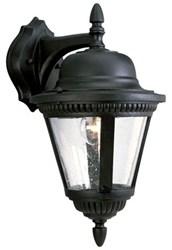 P5863-31 Westport 9.000 X 10.375 X 16.000 1 Lt Textured Black Clear Glass Wall Lantern CAT731,P5863-31,785247134649