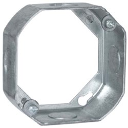 128 Raco 4 X 4 X 1.5 Steel Extension Ring CAT710,128,050169001288,V304EXT,71001697,TB551511225,551511225,4OB,50169001288