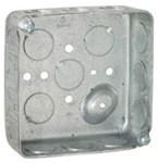 190 Raco 21 Cu In Square Electrical Box CAT710,V354,190,EBNNJ,ESB,EOB,50050169901903,RAC190,71002026,TB5215112,5215112,50169901908
