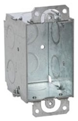 500 Raco 12.5 Cu In Steel 1 Gang Switch Box CAT710,500,71020090,OWB,SGOWB,TBCDOW,CDOW,50169905005