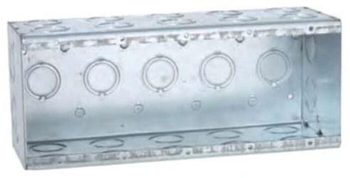 696 Raco 45 Cu In 2 Gang Gray Rectangular Electrical Box CAT710,696,050169006962,RAC696,TBGW235G,GW235G,50169006962