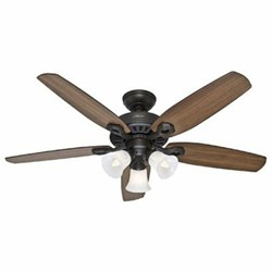 53238 Builder Plus 52 Ceiling Fan Indoor Bronze CATCAS,53238,49694532428,049694532381