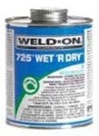 10165 Ips Corp. 1 Quart Aqua Blue Wet/dry Pvc Cement CAT468I,IW32,IB32,IWD32,72532,735,012181101650,