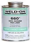 10835 Ips Corp. 1 Pint 660 Shower Pan Pvc Cement CAT468I,10835,012181108352,660PT,106600031,10835,SPC,46821015,