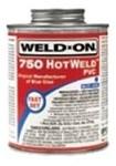 13753 Ips Corp. 1/2 Pint 750 Hotweld Blue Pvc Cement CAT468I,13753,HW8,WD8,012181137536,ORS8,WO8,PT8,