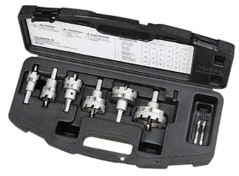 36-314 Ideal Electrical Tko Carbide Tipped Hole Saw 8-piece Kit CAT736,36-314,783250670697