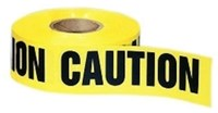 42-001 Ideal Black On Yellow 1000 Caution Tape