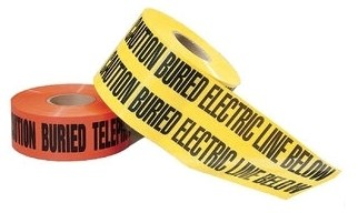 42-101 Ideal Red 1000 Caution Tape CAT736,42-101,783250421015