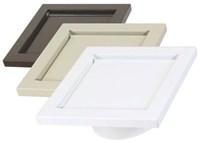 Dwv4w In-o-vate 6-1/2 Flush Mount Wall Dryer Vent White CAT305,DWV4W,85171500144