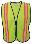 1265 Ironwear Yellow Reflective Safety Vest One Size Fits All CAT250GL,1265,RSV,OSV,