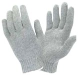 K112 Isaacs Glove & Safety Coburns Blue/gray Polyester/cotton Glove L CAT250GL,K112PL,GLOVES,CG,GLOVE,