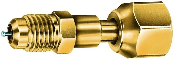 A31734 1/4 Brass Female Adapter Flarexsae Female Swivel Nut CAT380JB,