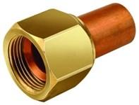 A32701 3/8 Brass Female Adapter Swivel Female Flarexsoldered CAT380JB,FNSA,MSA,684520327016