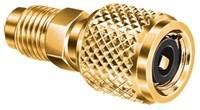 Qc-s5 5/16x1/4 Brass Coupling Female Threadedxmale Threaded CAT380JB,QC-S5,