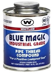 Ig8 J.c. Whitlam 1/2 Pint Blue Pipe Joint Compound CAT274,IG8,IG8,S95710,S95-710,BM8,27400800,S95710,688544080032,IG8,JONS95710