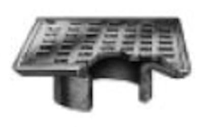 "B06nb-u Jrs 6""square Nickel Bronze Strainer Vp Screws CAT424JR,B06U,B6,B6U,B6-U,B6NB,B6NBU,B6NB-U,B06,B06-U,727753257481,"