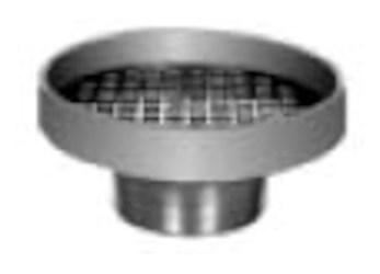 """F37-nb Jr Smith 7""""rd Nickel Bronze Strainer Recessed Grate CAT424JR,F37NB,F38,F38-NB,F37,42597825,SS7,727753262812,"""
