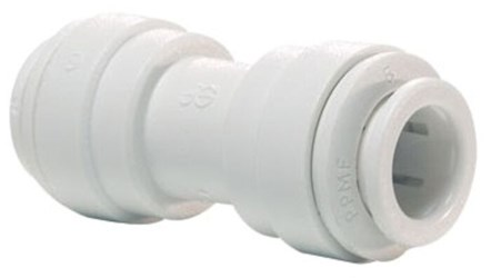 1/4 Poly Equal Straight Connector Push-fit X Push-fit CATJONG,PP0408W,PIC14,PIC,POC14,665626075568,665626075575