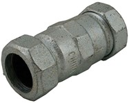 1 Galv Mal Iron Compression Coupling