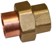 C75503 3/4 Wrot Copper Union Lf Female Solderedxfemale Soldered CAT453,CIUF,677706571006