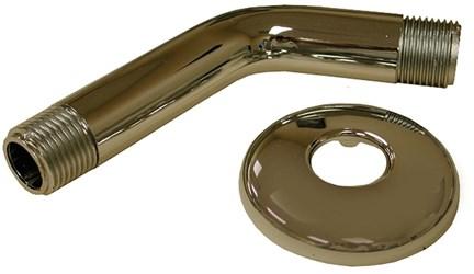 89f Dearborn 6 In Shower Arm W/flange CAT170,JONS01044,SAF,ARM,SHOWER ARM,SA6,S01044,89F,JONS10044,041193033673,