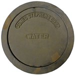 S36006 8 Water Ring & Cover New Orleans Pattern CAT250,S36006,717510366662,NOBW,CNOBW,CISWANO,RB12W,WBNO,S36091,RB12W,WB8,CIB,42304527,CIWB,CIRC,SBW8,