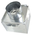 A2603 Joval 8 X 8 X 6 Pre-fabricated Metal R6 Insulated Top Tap Register Box CAT342J,A2603,70526130890,2603,JV2603,JVA2603,A886,J886,705261308901