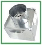 A2617 Joval 14 X 6 X 8 Pre-fabricated Metal R6 Insulated Top Tap Register Box CAT342J,A2617,70526130980,2617,JV2617,JVA2617,A1468,J1468,705261309809