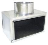A5612 Joval 12 X 6 X 7 Pre-fabricated Metal R6 Insulated Side Tap Register Box CAT342J,A5612,5612,JV5612,JVA5612,J1267,JST1267,705261322501