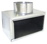 A5619 Joval 6 X 6 X 6 Pre-fabricated Metal R6 Insulated Side Tap Register Box CAT342J,A5619,5619,JV5619,JVA5619,A666ST,J666,705261323201