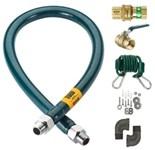 M7548k Krowne 3/4 Stainless Steel Gas Appliance 48 Gas Line CATKRO,M7548K,N/A,MFGR VENDOR: KROWNE,PRCH VENDOR: KROWNE,   ,