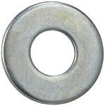 Fw12 9/16 X 1-3/8 Zinc Plated Flat Washer CAT763,FW12,31095,