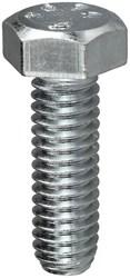 Mb141 1 Zinc Plated 1/4 -20 Tpi Hex Bolt CAT763,MB141,58704,