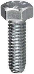 Mb38114 1-1/4 Zinc Plated 3/8 -16 Tpi Hex Bolt CAT763,MB38114,58806,